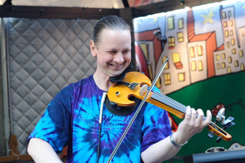 Fiddlin' at the Westover Beer Garden