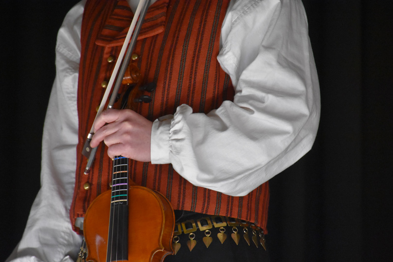 Wearing a Traditional Finnish Costume